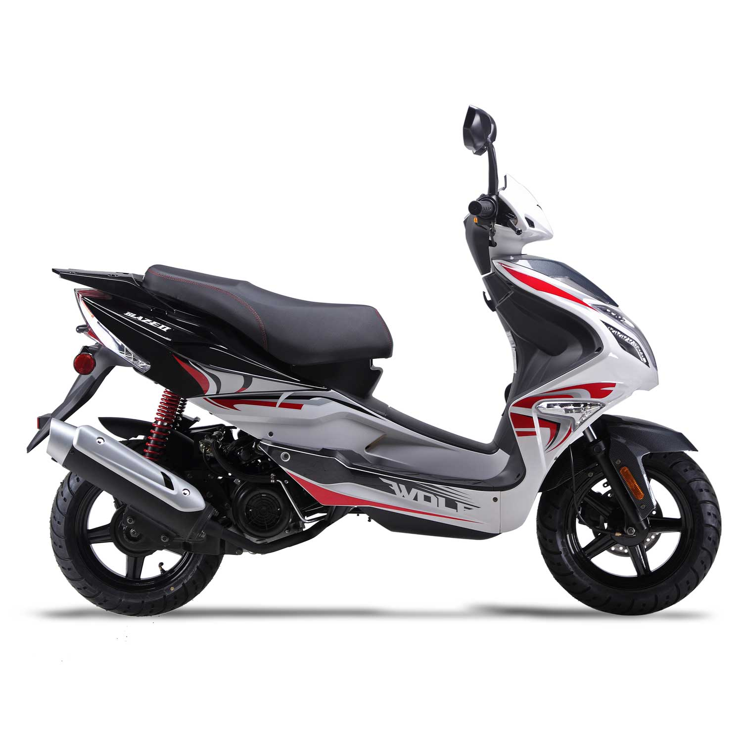 50cc Scooter Wolf Blaze - 50cc Scooter