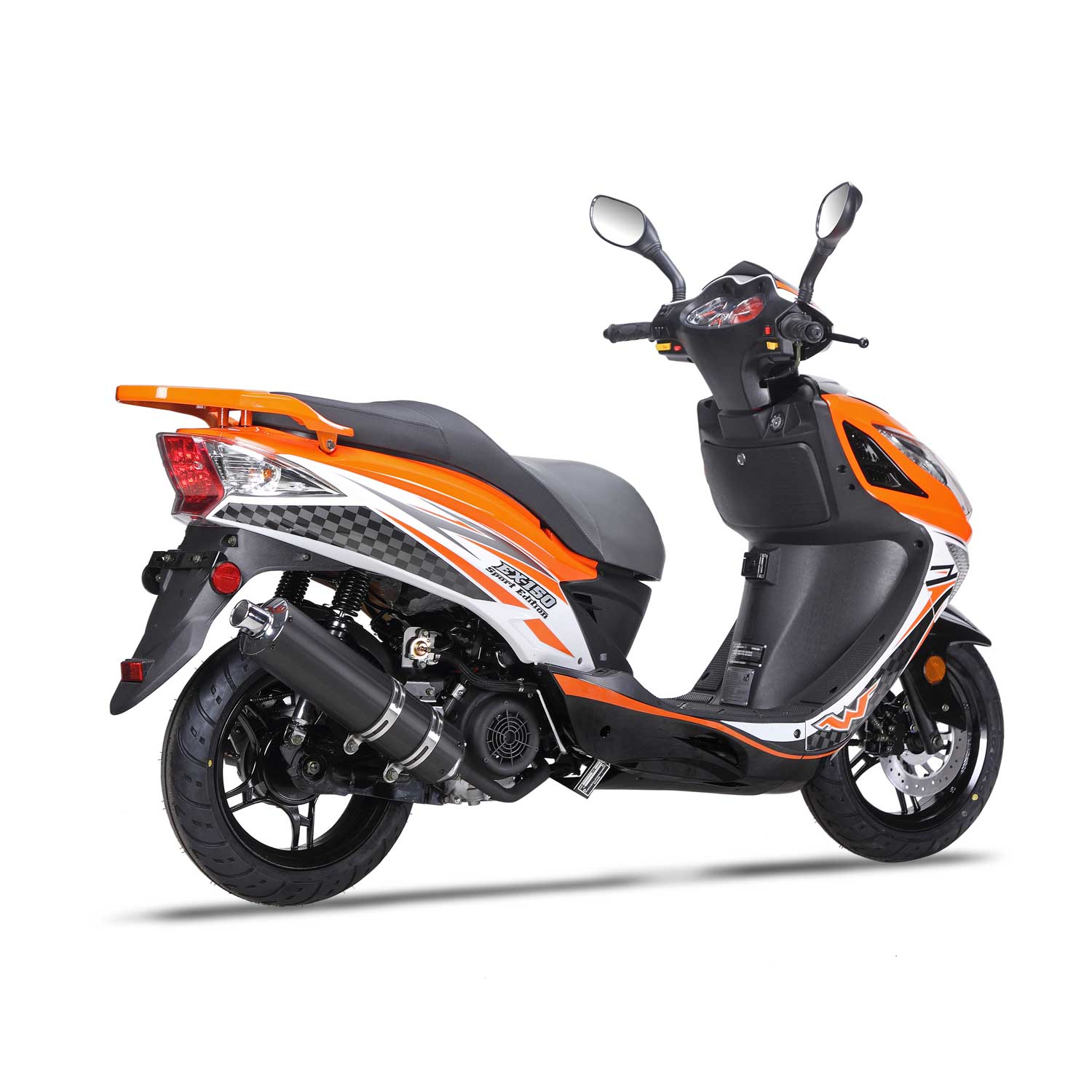 150cc Scooter Wolf EX-150 - 150cc Scooter