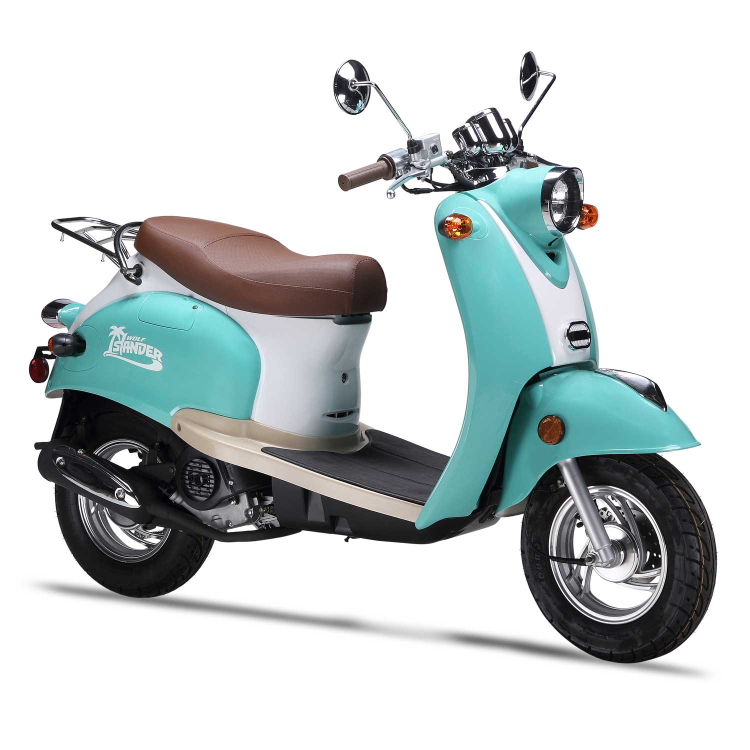 50cc Scooter Wolf Islander - 50cc Scooter