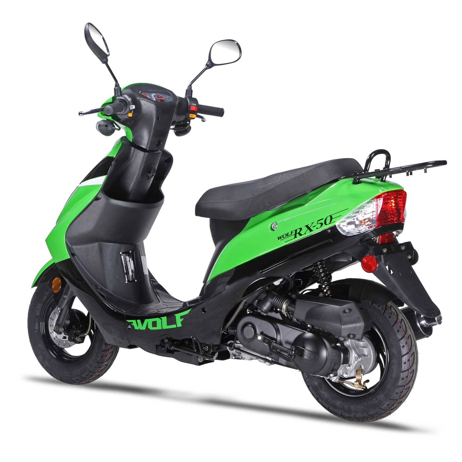 50cc Scooter Wolf RX-50 - 50cc Scooter