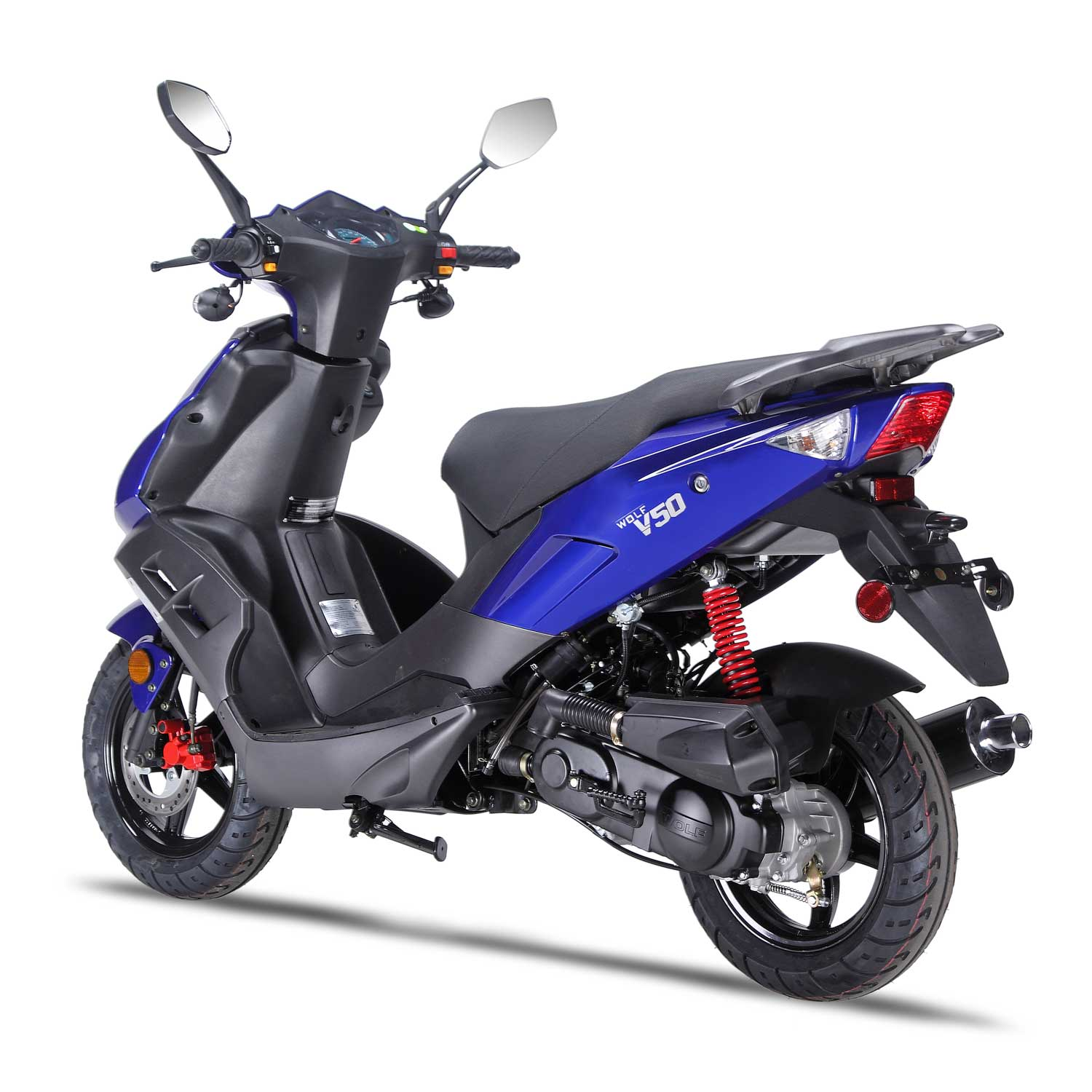 50cc Scooter Wolf V50 - 50cc Scooter