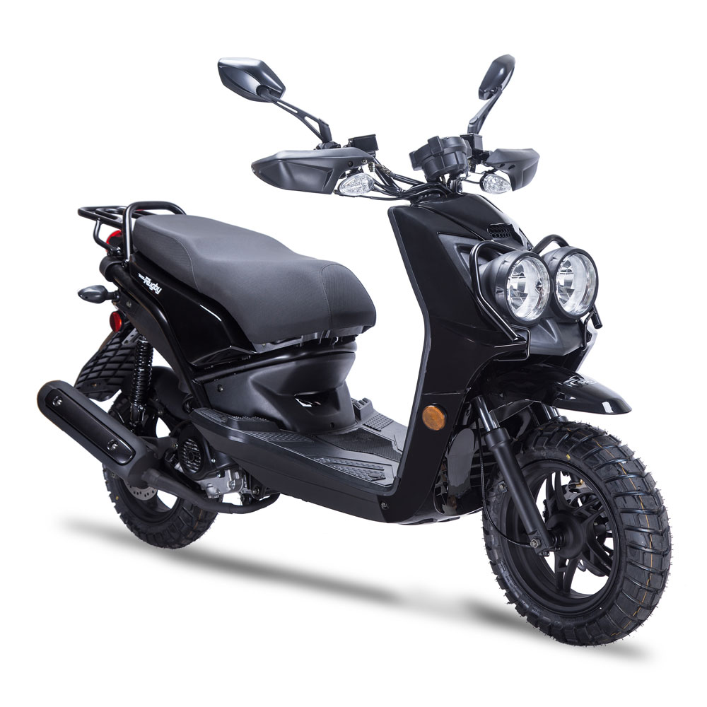 49cc 50cc 150cc Gas Powered Motor Scooters Mopeds Wholesale Taotao 250 Wiring Diagram Wolf Rugby Ii Scooter